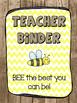 Backyard/ Bug themed Binder pack