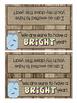Backyard/ Bug themed Goody Bag Labels