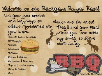 Backyard Burger Bash - Reinforcement Card Game