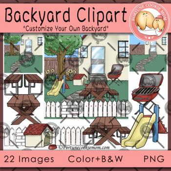 Backyard Clipart