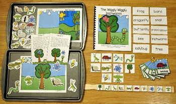 Spring Adapted Books Unit: The Wiggly Wiggly Inchworm