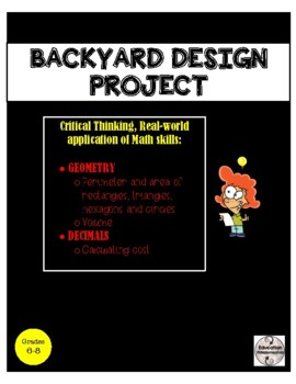 Backyard Design - Real World Geometry Project