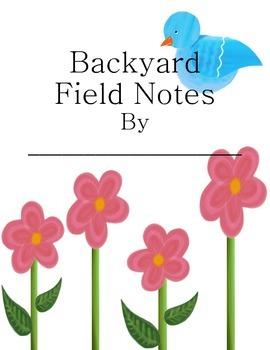 Backyard Field Notes Science Journal