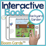 Garden Interactive Book Boom Cards™️   Speech Therapy