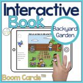 Backyard Garden Interactive Book Boom Cards™️ | Speech Therapy