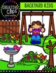 Backyard Kids {Creative Clips Digital Clipart}