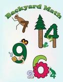Backyard Math: Addition Coloring Book