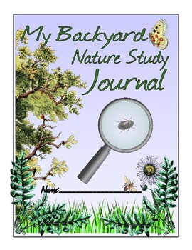 Backyard Nature Study Journal Sample--Freebie
