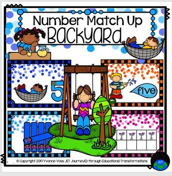 Backyard Number Match Up