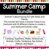 Backyard Summer Camp: Bundle - 10 Themes