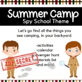 Backyard Summer Camp: Spy School