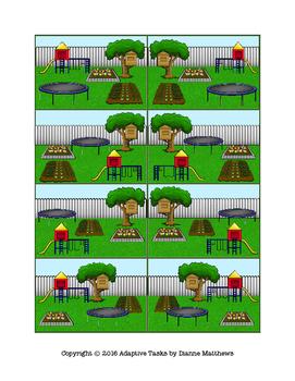 Backyard Theme Position Word Matching