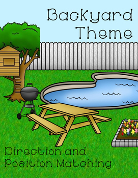 Backyard Theme Position Word Matching
