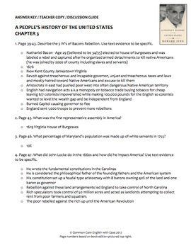 Bacon's Rebellion Nonfiction Reading Response Questions, Answer Key + Google Doc