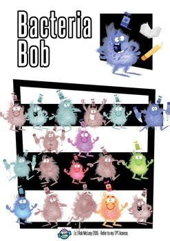 Bacteria Bob - FULL Download Pack 26 High Res Cartoons!!