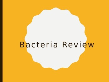 Bacteria PPT Review