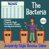 Bacteria Jeopardy Review Game