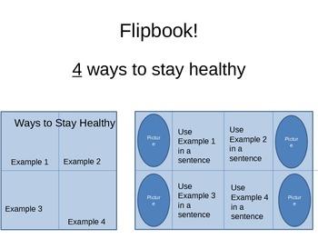 Bacteria/Virus & Communicable/Non-Communicable PowerPoint w/ flipbook lesson