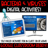 Bacteria and Viruses Interactive Google Slides for Distance Learning