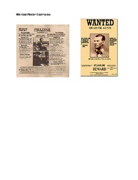 Bacteria or Virus Wanted Poster