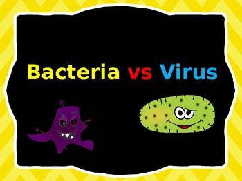 Bacteria vs. Virus