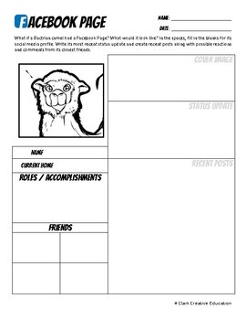 Bactrian Camel -- 10 Resources -- Coloring Pages, Reading & Activities