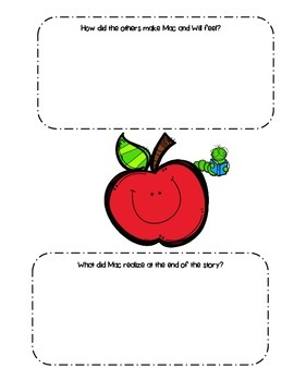Bad Apple- A tale of Friendship- Bullying