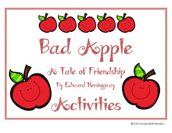 Bad Apple Friendship Worksheets