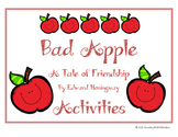 Bad Apple Friendship Worksheets