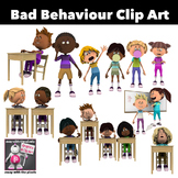 Bad Behaviour Kids Clip Art 16 Color Images