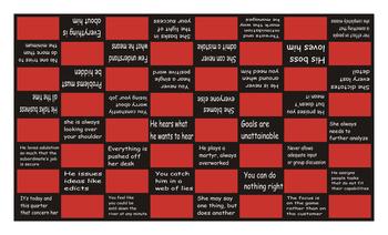 Bad Bosses Checker Board Game