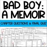 Bad Boy A Memoir Chapter Qs Review & comprehensive test exam quiz