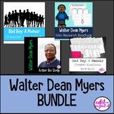 Walter Dean Myers Bad Boy A Memoir BUNDLE