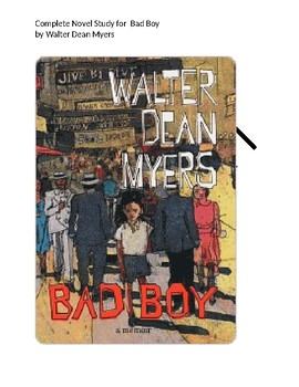 Bad Boy by Walter Dean Myers novel unit