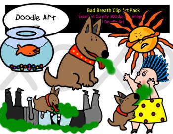 Bad Breath Clip Art Pack