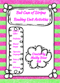 Bad Case of Stripes 10 reading/language study activities-