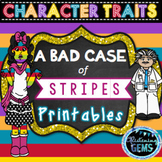 A Bad Case of Stripes Character Traits | First Day of School Activities