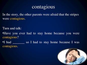 Bad Case of Stripes, Collaborative Conversations, Text Talk