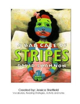 Bad Case of Stripes ESL Lesson