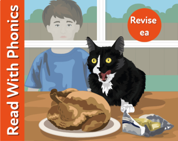 Bad Cat: Reinforces The Phonic Sound ea (Learn To Read Wit
