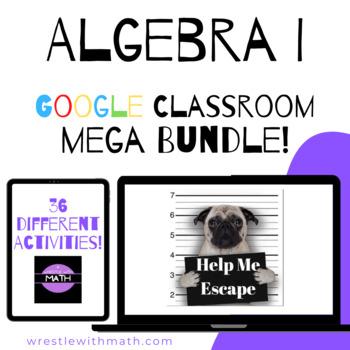 Bad Dog Breakout MEGA bundle – Algebra I Version