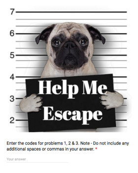 Bad Dog Breakout MEGA bundle – Middle School Math