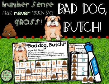 Bad Dog, Butch! Number Sense Fun!