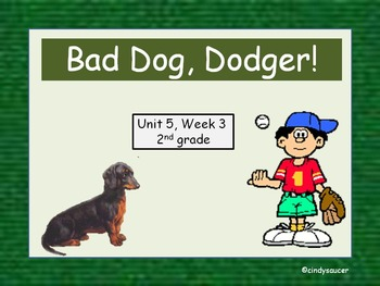 Bad Dog, Dodger!  2nd Grade, Interactive PowerPoint