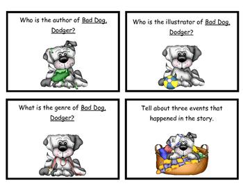 Bad Dog, Dodger! Comprehension Questions