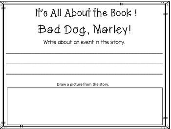 Bad Dog, Marley!