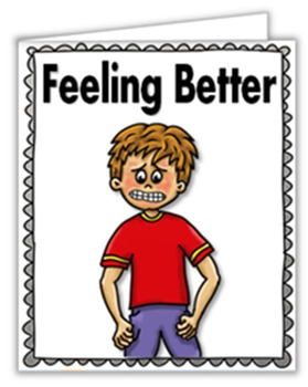 Social Story (Illustrated)- Feeling Better (Emotions)