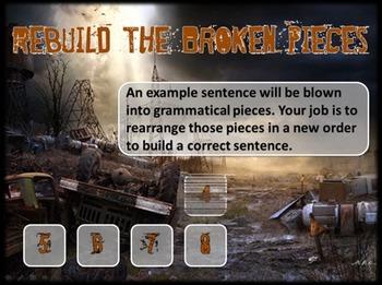 Bad Grammar Apocalypse - Fun Review Game