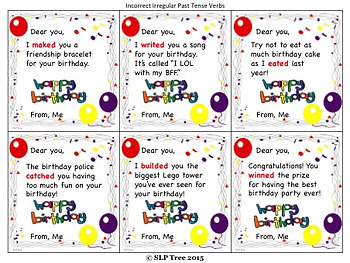 Bad Grammar Birthday Cards