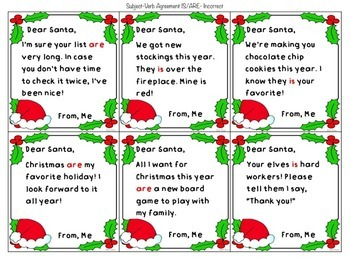 Bad Grammar Letters to Santa